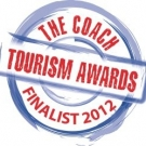 Finalist For The Coach Tourism Awards 2012