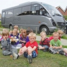 Grey's Provide Free Coach to Pre-School Group