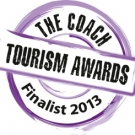 Greys of Ely, Finalist at 2013 Coach Tourism Awards!